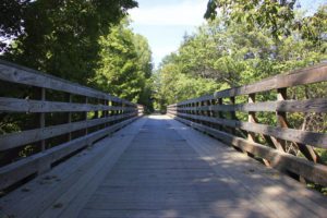 greenway trail ideal for bikes